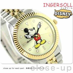 ディズニー ミッキー ゴールデンイヤーズコレクション ZR26507 インガソール 腕時計 ゴールド