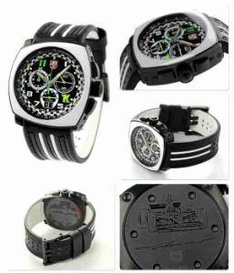 【あす着】ルミノックス トニー カナーン クロノグラフ 1140 シリーズ 1143 LUMINOX メンズ 腕時計 クオーツ ブラック×ホワイト
