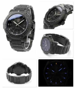 ルミノックス 腕時計 モダン マリナー ブラックアウト LUMINOX 6252.BO