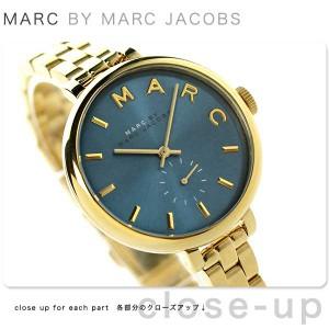 マーク バイ マーク ジェイコブス サリー 36 スモールセコンド MBM3366 MARC by MARC JACOBS レディース 腕時計 ブルー×ゴールド