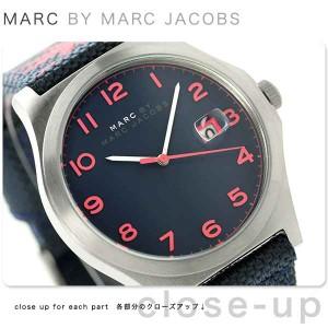 マーク バイ マーク ジェイコブス ジミー メンズ 腕時計 MBM5087 MARC by MARC JACOBS  ブルー×ピンク