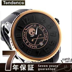 テンデンス ガリバー マーク&ロナ 限定モデル ML02043012AA-B TENDENCE 腕時計 クオーツ ブラック