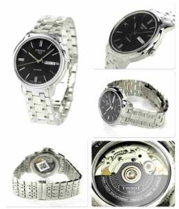 ティソ T-クラシック オートマチック 3 メンズ 腕時計 T065.430.11.051.00 TISSOT ブラック