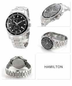 【あす着】ハミルトン クロノグラフ ジャズマスター シービュー メンズ H37512131 HAMILTON 腕時計 AMERICAN CLASSIC SEAVIEW CHRONO ブ