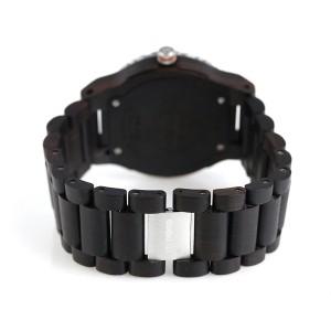 ウィーウッド カッパ 木製 マルチファンクション 腕時計 9818132 WE WOOD ブルー×ブラック