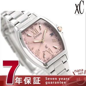 【あす着】シチズン クロスシー ハッピーフライト トノーモデル EC1100-56W CITIZEN xC 腕時計 ピンク