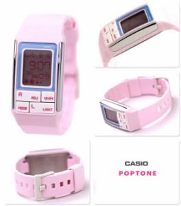 【あす着】カシオ チプカシ ポップトーン CASIO POPTONE デジタル ピンク LDF-51-4ADR