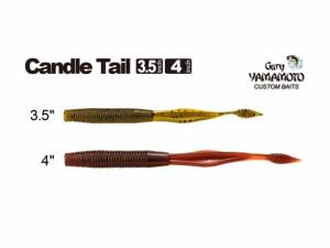 フィッシュアロー×ゲーリーヤマモト キャンドルテール 3.5インチ(Candle Tail 3.5inch)