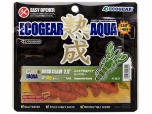 エコギア/ECOGEAR 熟成アクア ロッククロー 2.5インチ (62mm/入数:7本 ロックフィッシュ用ワーム)