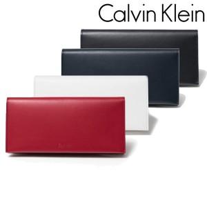 Calvin Klein カルバンクライン かぶせ 長財布 フォーカス 852605
