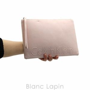 【ノベルティ】 カルバンクライン Calvin Klein コスメポーチ フラット #ピンク [824597]