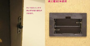 ★LED Picture Light 花びら
