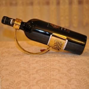 スペイン製 真鍮 ワインラック ボトルホルダー 小