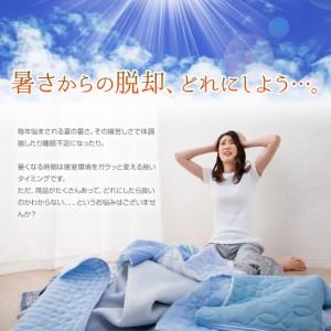 エムールクール敷きパッド シングルサイズ 敷きパッド 敷きマット クール寝具 冷却マット 夏用 冷感素材 送料無料