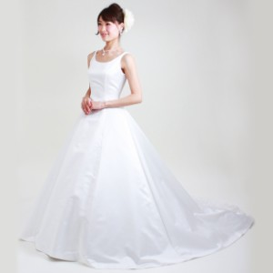 20d13eded397f  ウェディングドレス レンタル 6号-7号  Aライン ウエディングドレス ウェディング ドレス 披露宴 6202  往復送料無料