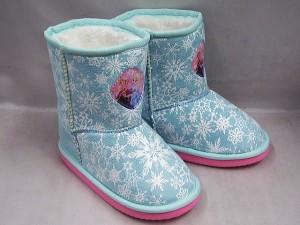 (A倉庫)【Disney ディズニー】アナと雪の女王 6877 キッズ ムートンブーツ 子供靴 子供ブーツ 女の子 キャラクターシューズ DN6877