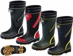 (A倉庫)【DUNLOP】 ダンロップ ドルマン G297 防寒長靴 マリンブーツ メンズウィンター 防寒ブーツ