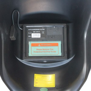 【送料無料】自動遮光溶接面 溶接マスク 大視野・全自動瞬間(1/35,000秒)遮光液晶型