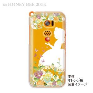 【HONEY BEE ケース】【201K】【Soft Bank】【カバー】【スマホケース】【クリアケース】【クリアーアーツ】【白雪姫】 08-201k-ca0100b