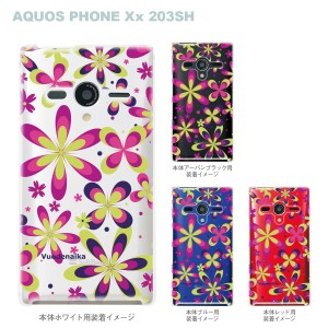 【AQUOS PHONEケース】【203SH】【Soft Bank】【カバー】【スマホケース】【クリアケース】【Vuodenaika】 21-203sh-ne0020ca