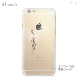 iPhone6 Plus 4.7 5.5 ケース カバー スマホケース クリアケース ハードケース Clear Arts 天使 01-ip6-ca0049