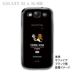 【GALAXY S3  α SC-03E】【ケース】【カバー】【スマホケース】【クリアケース】【サッカー】【オランダ】 10-sc03e-fca-hd02