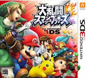 大乱闘スマッシュブラザーズ 3DS ソフト CTR-P-AXCJ / 中古 ゲーム