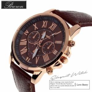 腕時計 ウォッチ 太ベルト カラフル 色 カジュアル 白黒 青 ピンク 赤 黄色 茶色 緑