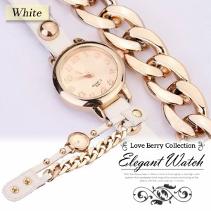 腕時計 チェーンタイプ 巻きつけタイプ 巻き時計 ブレスウォッチ