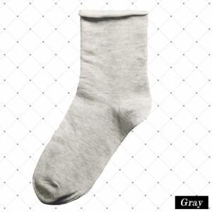 くつした レディース 靴下 黒 白 無地 シンプル パステル カジュアル 学校 スクール 小物 ソックス