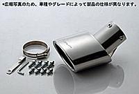 5ZIGEN マフラーカッター ホンダ オデッセイ RA5用(MC10-16231-001)