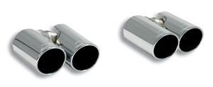 Supersprint AUDI A3 スポーツバック 1.8TFSI クアトロ 180HP 8VA用 マフラーセット 左右4本出し80mm(772104/765916)