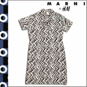 マルニ エイチ&エム MARNI H&M ワンピース ドレス シルク レディース