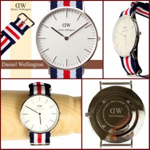 ダニエルウェリントン Daniel Wellington 40mm 腕時計 メンズ CLASSIC CANTERBURY シルバー