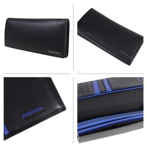 ディーゼル 財布 メンズ DIESEL 長財布 24 A DAY X04457 PR013 2カラー