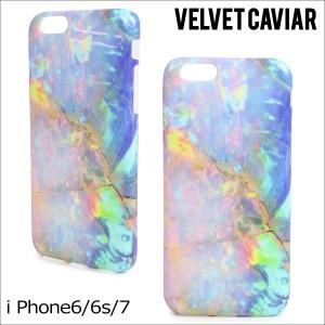 Velvet Caviar ヴェルヴェット キャビア iPhone7 6 6s ケース スマホ iPhoneケース BLUE OPAL IPHONE CASE レディース