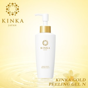 金華ゴールド 箔一 ピーリングジェル N 120ml 金箔化粧品 KINKA 角質 ツヤ うるおい 水溶性 プロテオグリカン