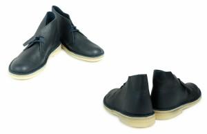 クラークス デザートブーツ メンズ Clarks DESERT BOOT 26125548 レザー 靴 ネイビー