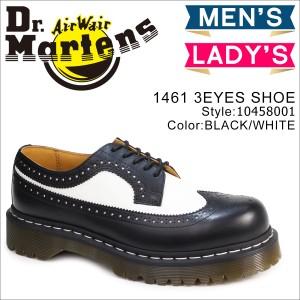 ドクターマーチン 5ホール 3989 メンズ レディース Dr.Martens ウイングチップ シューズ 5 EYE BROGUE 10458001