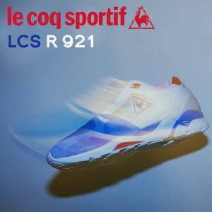 ルコック スポルティフ le coq sportif メンズ スニーカー LCS R921 ホワイト QL1LJC08WH [7/5 追加入荷]