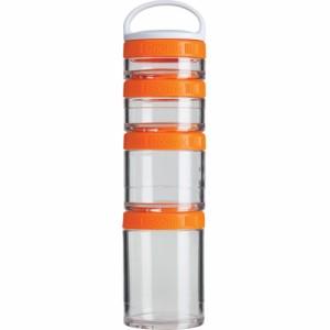 ■BlenderBottle■ GoStak Starter 4 Pak -Orange-/ブレンダーボトル ゴースタック スターター