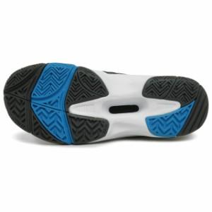 ヨネックス(YONEX) ユニセックス テニス シューズ パワークッション 202 〔オールコート用〕 :ホワイト×ブルー (SHT-202)