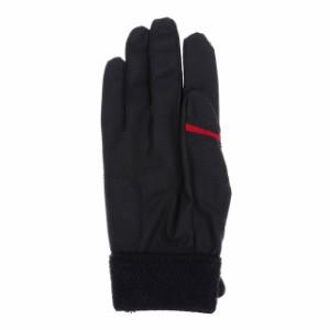 イグニオ メンズ 野球 バッティング用手袋 (IG-8BA1008R) : ブラック×レッド IGNIO