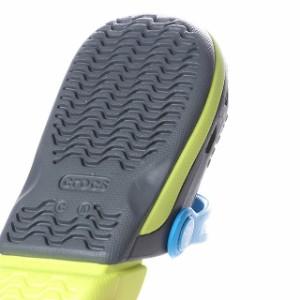 クロックス エレクトロ III クロッグ K (20499108I) ジュニア(キッズ・子供) クロッグサンダル Electro III Clog K : グレー crocs