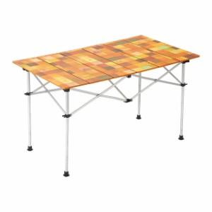 コールマン ナチュラルモザイクロールテーブル120 (2000031293) キャンプ テーブル Coleman