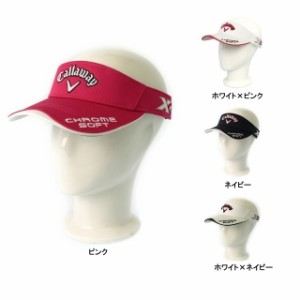 Callaway(キャロウェイ) レディース ゴルフ 帽子 サンバイザー CallwayTourVisor WMS SS JM (247-7990806) golf5