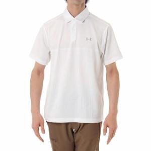 アンダーアーマー メンズ ゴルフウェア 半袖シャツ UA THREDBORNE JACQUARD POLO (1299064) 2017 秋冬 golf5