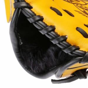 ミズノ 菅野智之モデル:Mサイズ プロモデル ジュニアソフトボール用 (1AJGS16900) ナチュラル ソフトボール ピッチャー用グラブ