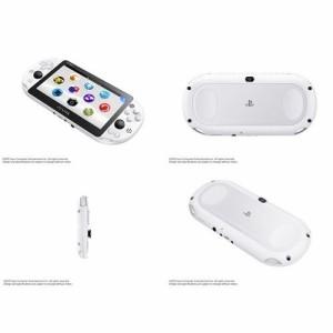 ★新品★PS Vita PlayStation Vita Wi-Fiモデル グレイシャー・ホワイト(PCH-2000ZA22)