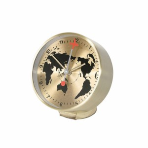 スパイス EDGE BESIDE GLOBE TELR1090GD ゴールド 置き時計 シンプル モダン おしゃれ かわいい 置時計 クロック CLOCK 時計 輸入品